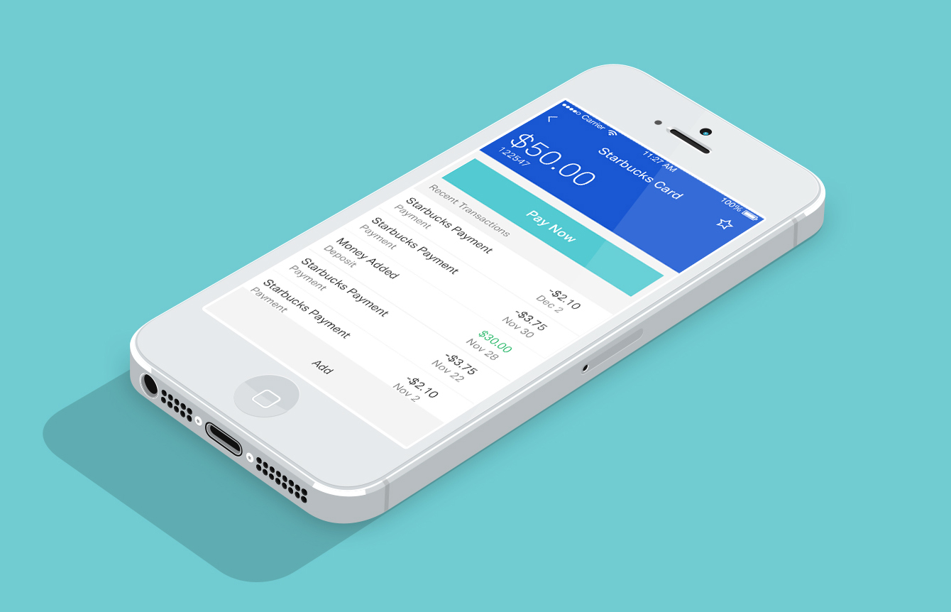 Personal Finance iOS app